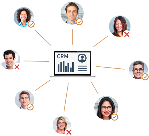 Verify existing contact database quality